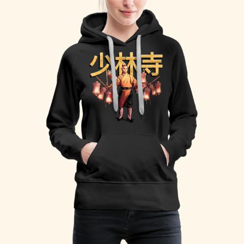 Shaolin Warrior Monk - Vrouwen Premium hoodie