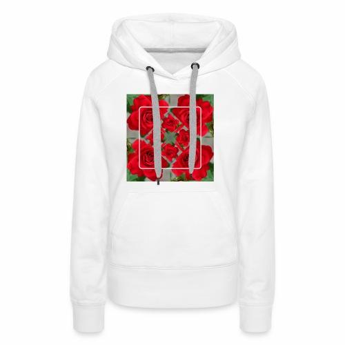 Rose Design - Frauen Premium Hoodie