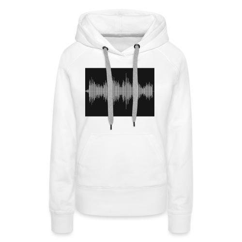 Soundwave - Vrouwen Premium hoodie