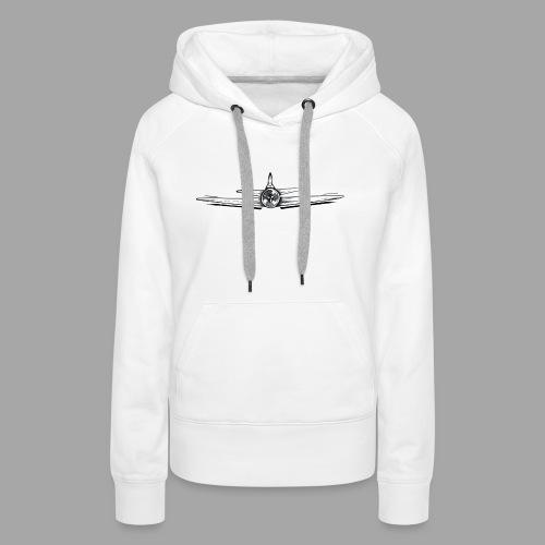 Boeing - La valse à mille points - Sweat-shirt à capuche Premium pour femmes