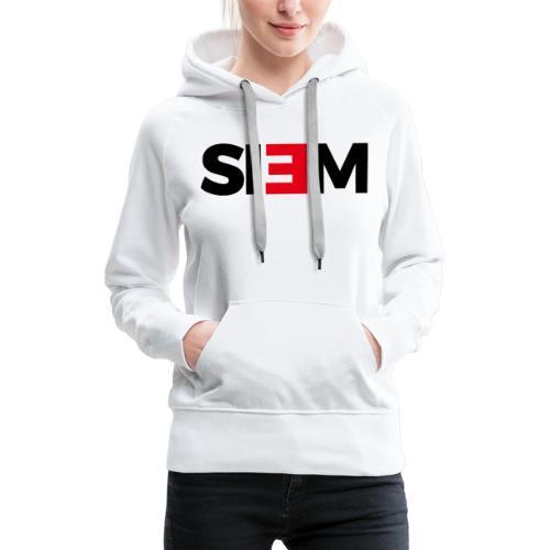 siem_zwart - Vrouwen Premium hoodie
