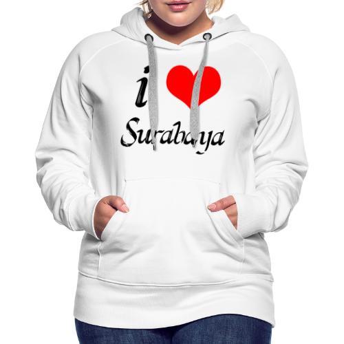 surabaya png - Vrouwen Premium hoodie