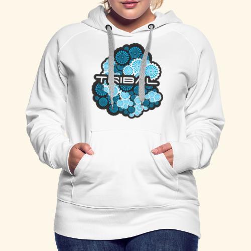 TRIBAL BLUE - Frauen Premium Hoodie