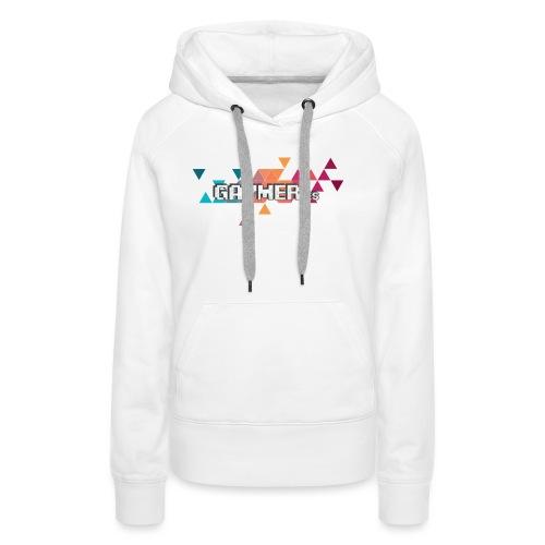 Logo Gaymer.es - Sudadera con capucha premium para mujer