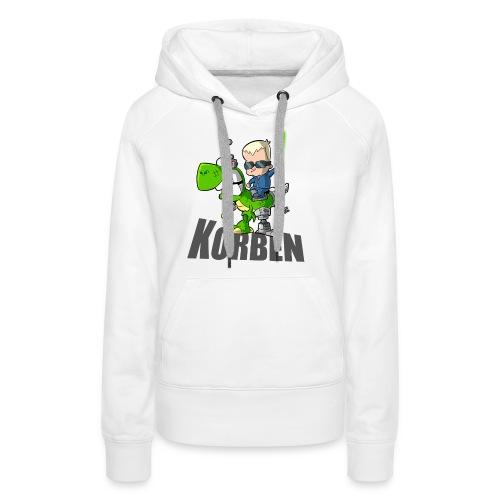 korben 1 DD - Sweat-shirt à capuche Premium pour femmes