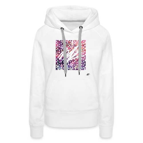 Pixl'ink by NSKdsign - Sweat-shirt à capuche Premium pour femmes