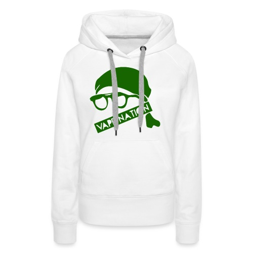 vapenation4000green - Women's Premium Hoodie