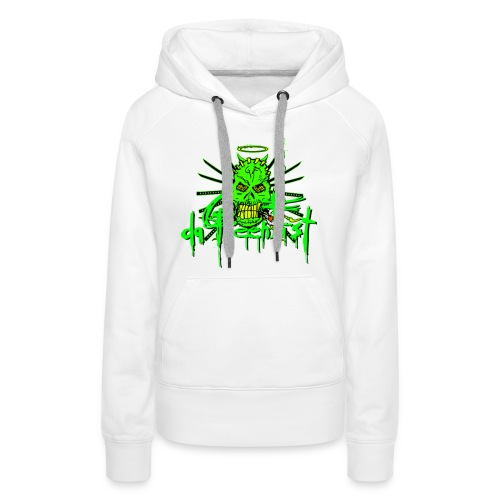 GFSkullOnlyColorShirt2 - Women's Premium Hoodie