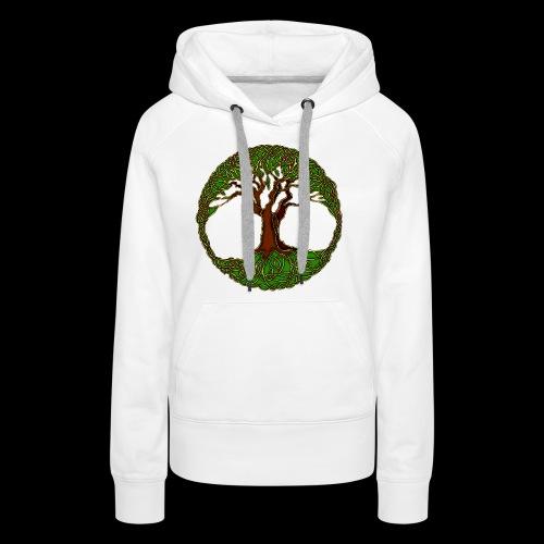 Tree of Life - colour - Women's Premium Hoodie