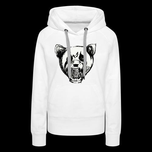 NatureRebellion Panda - Sweat-shirt à capuche Premium pour femmes