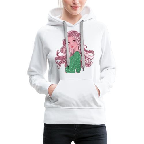 Girl power Holly - Sweat-shirt à capuche Premium pour femmes