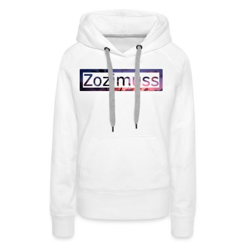 Zozimuss sunset. - Women's Premium Hoodie