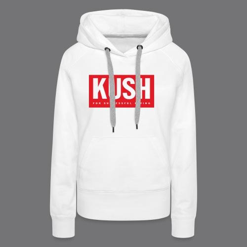 KUSH Tee Shirts - Women's Premium Hoodie