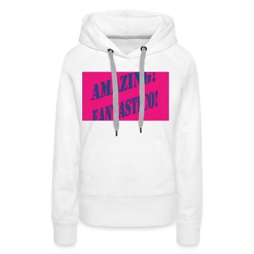 fantástico - Vrouwen Premium hoodie