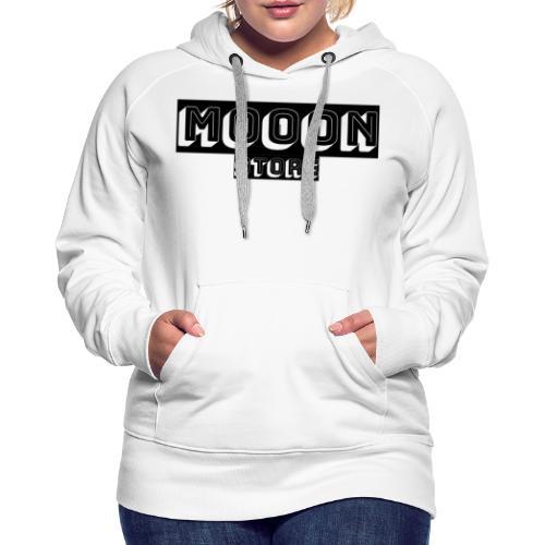 MOOON 🌙 - Sweat-shirt à capuche Premium pour femmes
