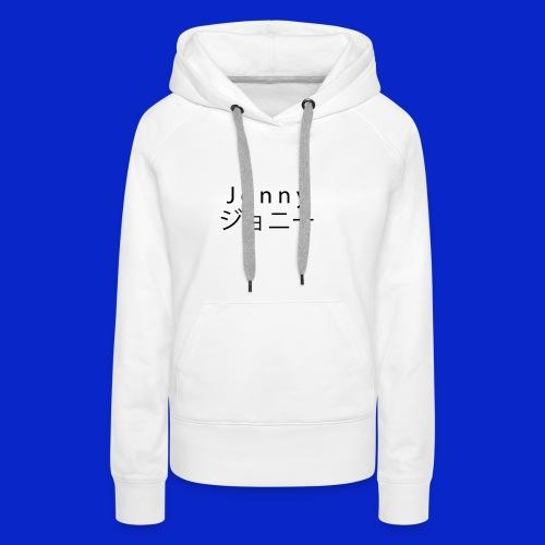 J o n n y (black) - Women's Premium Hoodie