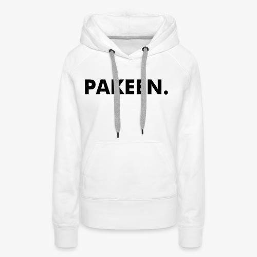 Pak Een Punt Horizontaal - Vrouwen Premium hoodie