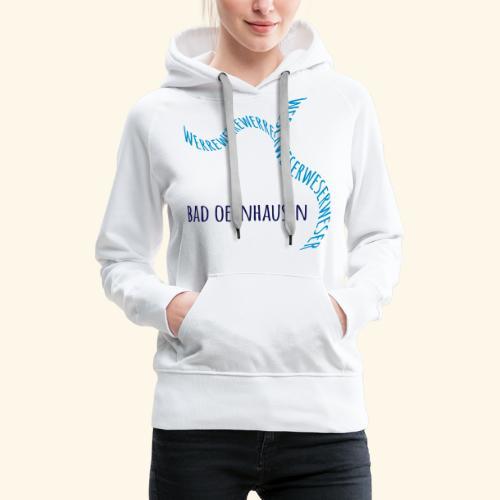 Alles im Fluss - Frauen Premium Hoodie