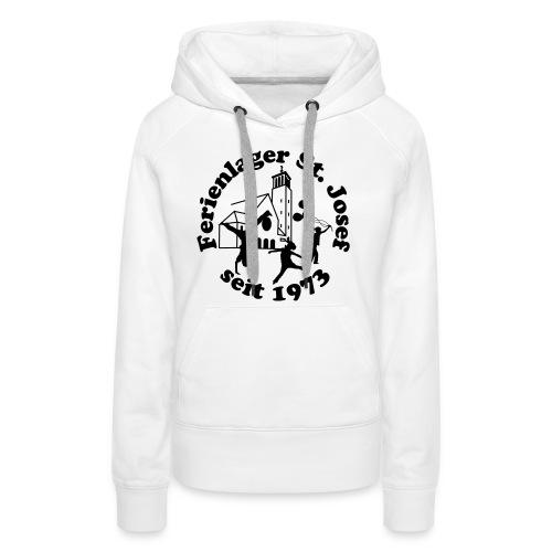 Logo Vektor normal weiß - Frauen Premium Hoodie