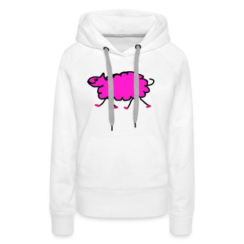 pinkschaf - Frauen Premium Hoodie
