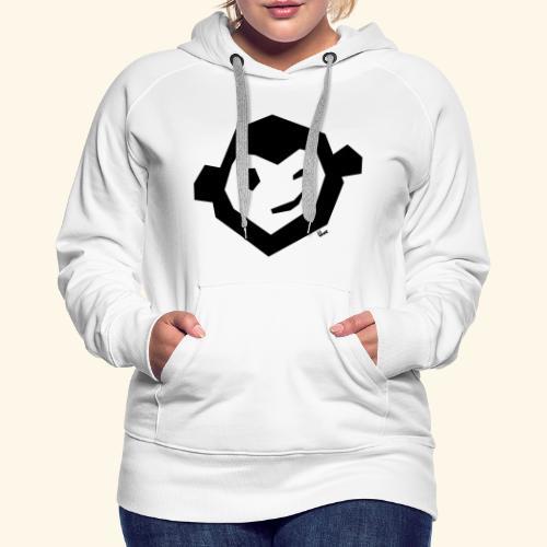 Uwe Kopf mono - Frauen Premium Hoodie