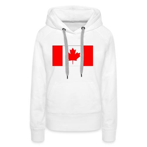 Kanada Fahne - Frauen Premium Hoodie