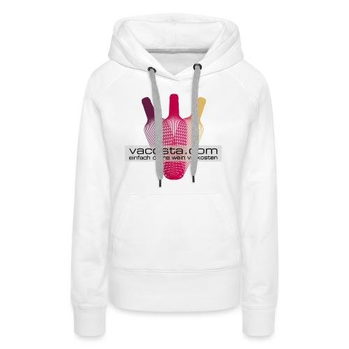 Logo_vacosta_V06_RZ - Frauen Premium Hoodie
