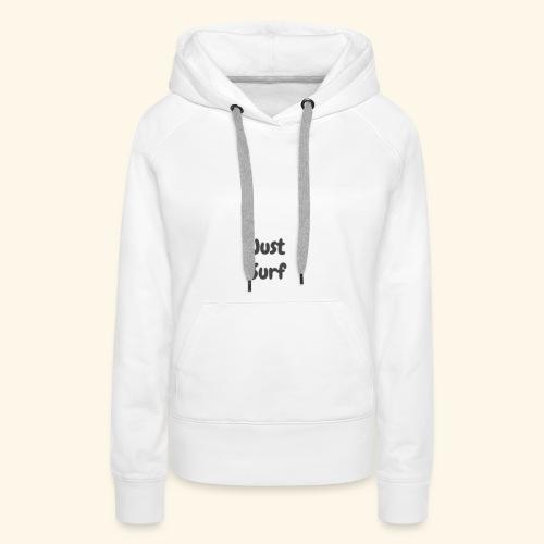 Surf originals - Sweat-shirt à capuche Premium pour femmes
