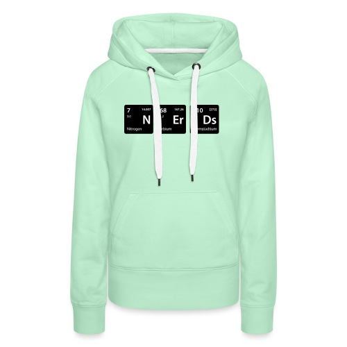Element Nerds - Frauen Premium Hoodie