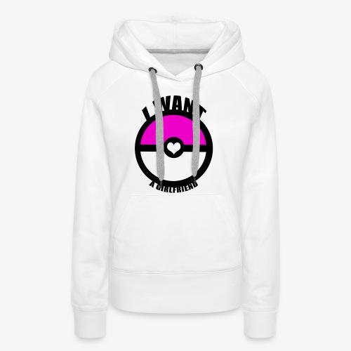 Balle de Copine - Sweat-shirt à capuche Premium pour femmes