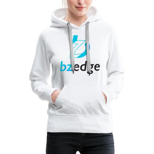 BZEdge Cutting Edge Crypto - Women's Premium Hoodie
