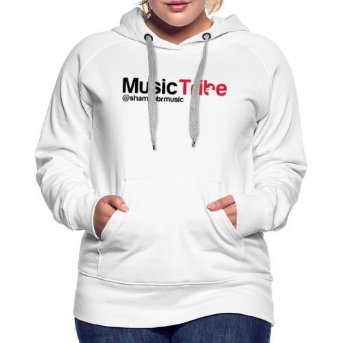 music tribe logo - Women's Premium Hoodie