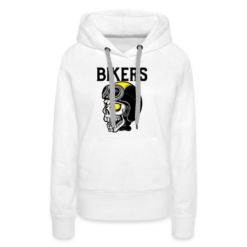 biker 6 - Sweat-shirt à capuche Premium pour femmes
