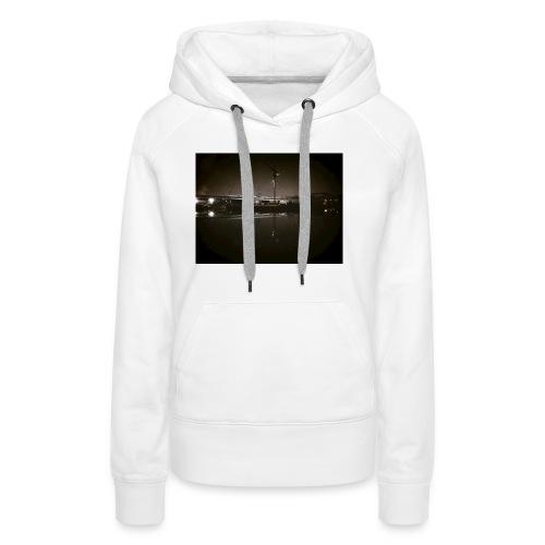 Dark Water View - Sweat-shirt à capuche Premium pour femmes