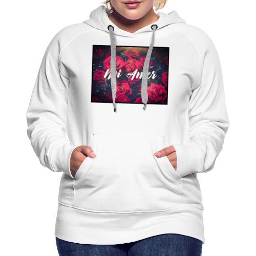 Mi amor - Frauen Premium Hoodie