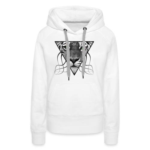 Grey Tiger - Frauen Premium Hoodie
