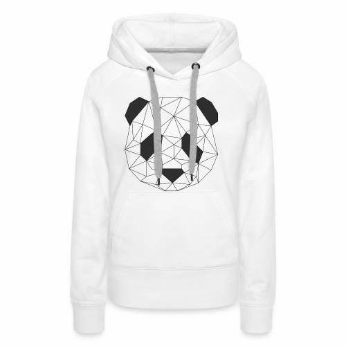 panda - Sweat-shirt à capuche Premium pour femmes