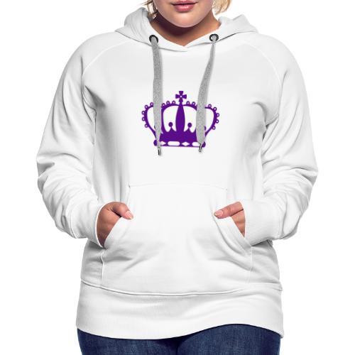 Purple Crown - Women's Premium Hoodie