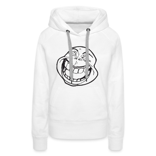meme face not really by xarity d4es290 png - Vrouwen Premium hoodie