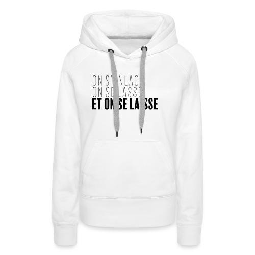 Philosophie sur l'amour - Sweat-shirt à capuche Premium pour femmes