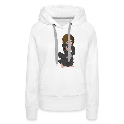 Pistol girl - Vrouwen Premium hoodie