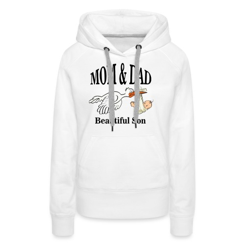 Mom & Dad Son - Women's Premium Hoodie