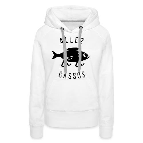 Cassos - Sweat-shirt à capuche Premium pour femmes