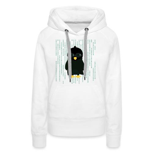 Pingouin Neo - Sweat-shirt à capuche Premium pour femmes