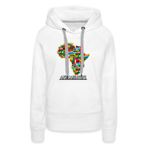 Africaismylife Logo - Women's Premium Hoodie