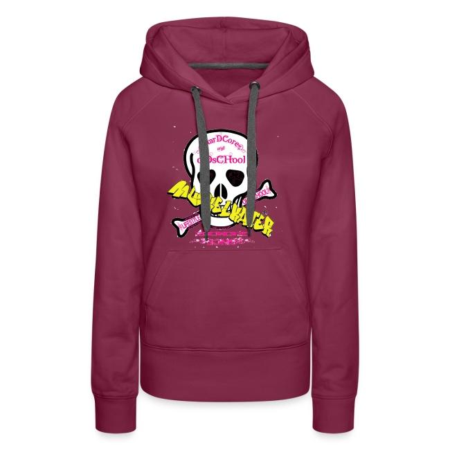 skull pink gif