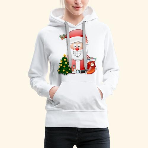 Father Christmas Scene 5 - Women's Premium Hoodie