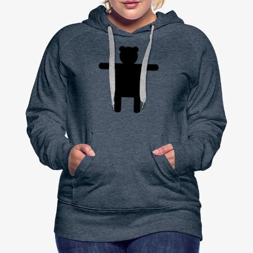 Epic Ippis Entertainment logo desing, black. - Naisten premium-huppari