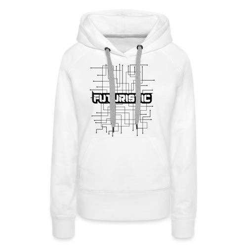 Futuristic - Vrouwen Premium hoodie