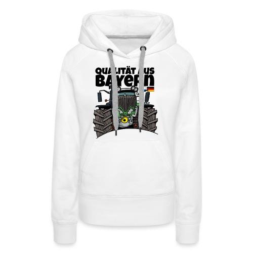 Qualitaet aus Bayern F def - Vrouwen Premium hoodie